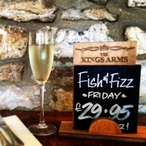 Friday Fish & Fizz @ The Kings  | Stow-on-the-Wold | United Kingdom