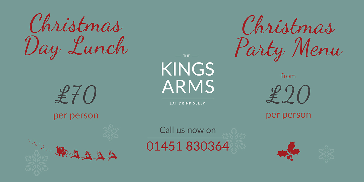 kings arms christmas web header