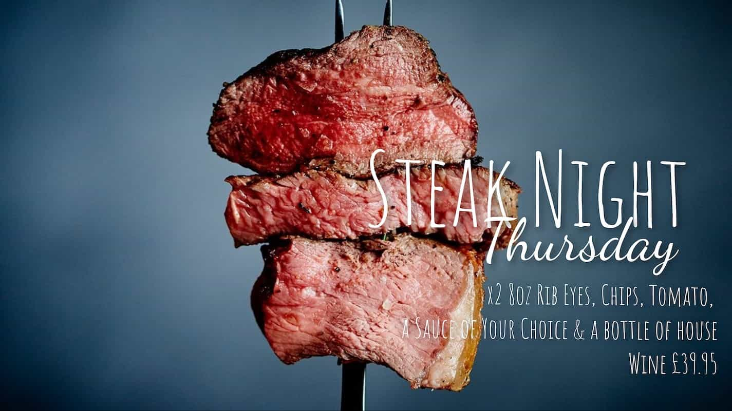 Steak Night - The Kings Arms Stow on the Wold